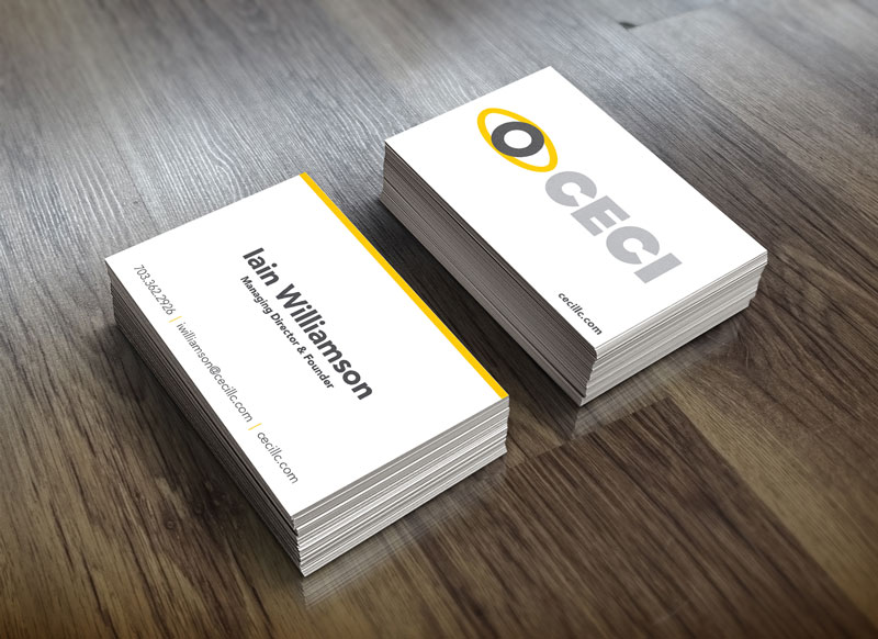 CECI LLC Business Card