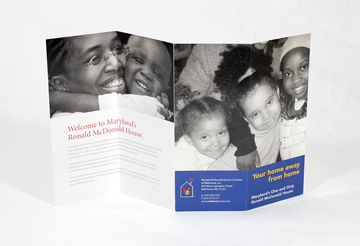 Ronald McDonald House Charities Brochure